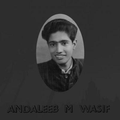 "Andaleeb M. Wasif ""Andaleeb M. Wasif"" (Little Axe)"