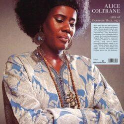 "Alice Coltrane ""Africa: Live At The Carnegie Hall 1971"" (Alternative Fox)"