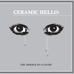 """Ceramic Hello """"The Absence  Of A Canary"""" (Ice Machine)"""
