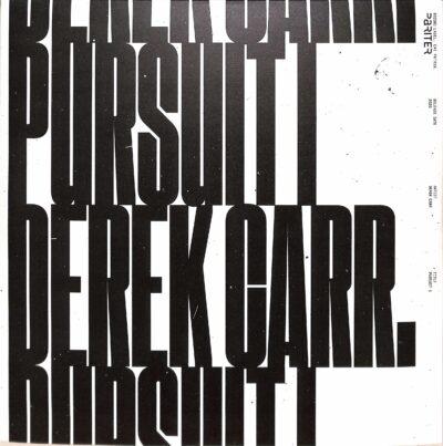 """Derek Carr """"Pursuit Part 1"""" (Pariter)"""